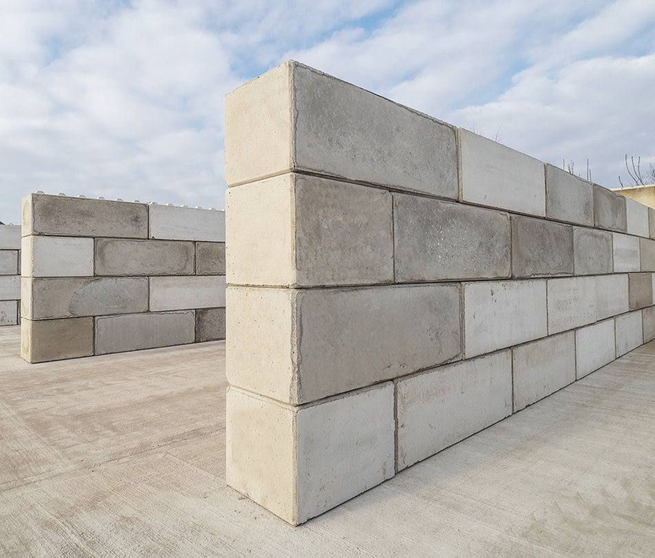 Instructions for the production of quality concrete Lego bricks