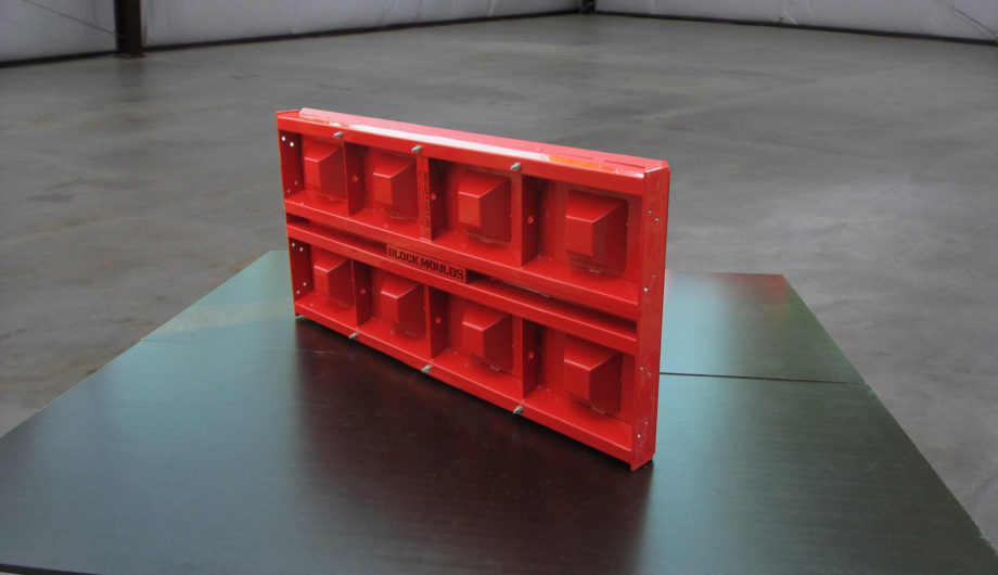 block mould top plate