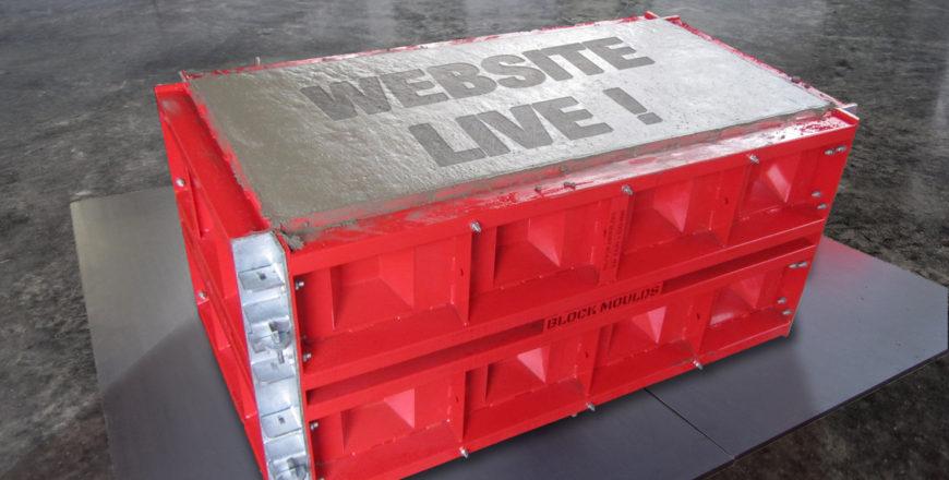 concrete block mold