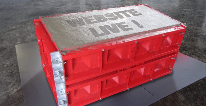 concrete block mold