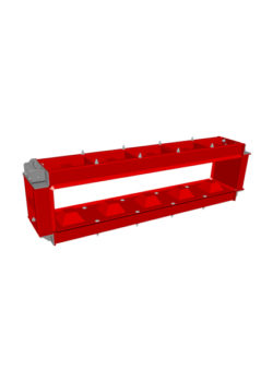 basic block mould 150x30x30