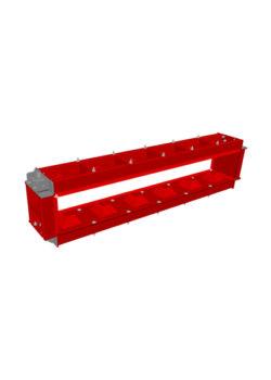 block mould 180x30x30