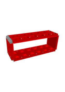 block mould 180x60x60